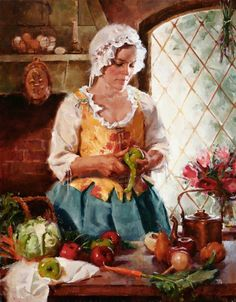 The Colonial Era | Meadow Gist | American Impressionist painter and illustrator