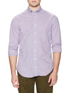 Gitman Bros. Checkered Long Sleeve Sportshirt at Gilt saved by #ShoppingIS