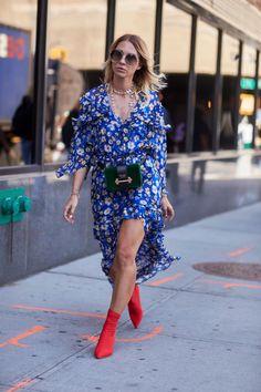 Pretty Printed Dresses Were Everywhere On Day 2 of New York Fashion Week | Fashionista