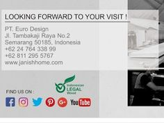 Indonesian Furniture & Home Accessories Manufacturer and Online Store. www.janishhome.com Business Help, Semarang, Furniture Manufacturers, Luxury Furniture, Home Accessories, Store, Home Decor Accessories, Storage, Business