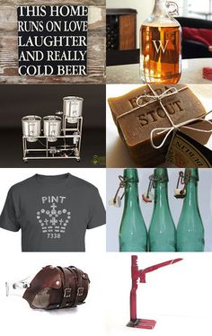 Gifts for the home brewer #autumn #beer #brewing