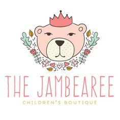 Premade Logo - Bear Premade Logo Design - Customized with Your Business Name!