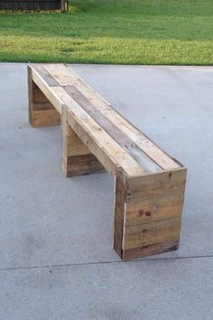 A bench to go with the 7'x4' table