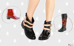 10 botas de lluvia que querrás usar aún cuando no llueva - Púrpura