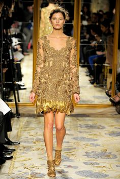Marchesa Fall 2012 Ready-to-Wear Fashion Show - Ava Smith