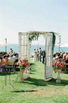 Rustic outdoor weddings