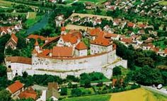 "The Romantic Road-Harburg-Harburg Castle, historic old town centre & ""Bockfest."""