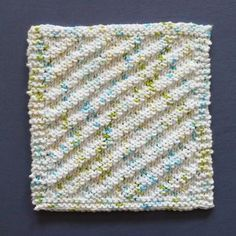 Perfect One-Ounce Dishcloth - FREE Patterns: FREE Pattern #10 - INTO THE WIND