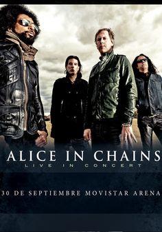 Alice In Chains - 30 de septiembre - Movistar Arena