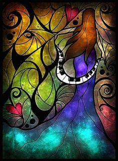 Beautiful music inspired stained glass