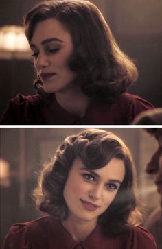 Vintage 20s hairstyle