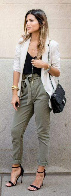 Cargo City Pants Outfit Idea by The Girl From Panama