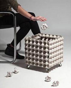 Caixa de Ovos: 26 Formas realmente geniais de aproveitar as embalagens