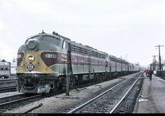 RailPictures.Net Photo: EL 811 Erie Lackawanna EMD E8(A) at Huntington, Indiana by Marty Bernard