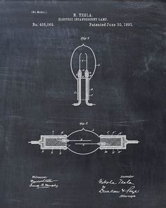 Tesla Incandescent Lamp patent