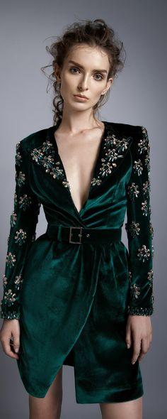 """Alfazairy """"Ruby"""", F/W 2016-2017 - Couture - http://www.orientpalms.com/Alfazairy-6492"""
