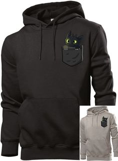 Pocket toothless hoodie toothless sweatshirt how to by vmazone