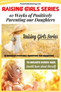 Parenthood entails love, commitment and patience. That's exactly why I created this guide called the Raising Girls Series- 10 Weeks of Positively Parenting Our Daughters! Parenting, fathering, and mothering tips and tricks are all covered to help you in raising your child in a positive environment! Training your children doesn't always have to be serious, this parenting guide can surely help you teach your little one important values through useful communication skills! Raising Girls, Girls Series, Communication Skills, Parenting Advice, Teaching Kids, Daughters, Patience, Love Her, How To Find Out