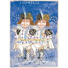 Paolo Fresu, I Gemelli Serigrafia #gliartistidiGALP #nelsegnodiGALP