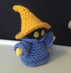 Crochet Amigurumi Final Fantasy Black Mage . Pattern by JanaGeek on Etsy