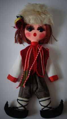 Bulgarian Doll. I have seen these in many stores.