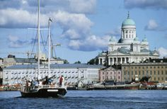 Helsinki, Finland: Some people want to visit tropical islands, I want to visit Scandinavia. I want to see the northern lights, the midnight sun. Helsinki, Places To Travel, Places To See, Places Ive Been, Wonderful Places, Beautiful Places, Holland, Europe, France