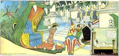 The comic strip Little Nemo in Slumberland is considered McCay's masterpiece (July 22, 1906).