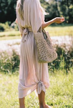 THE MELODY MAXI DRESS + ABBY TOTE