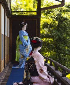 maikos fukucho + miena | japanese culture #kimono