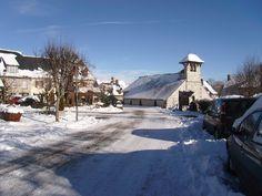 Le bourg de Pailherols, Cantal, Auvergne