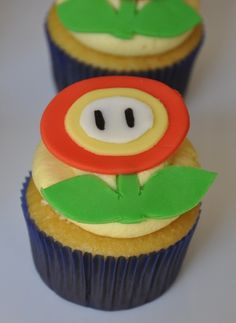 Mario Brothers cupcake 3a