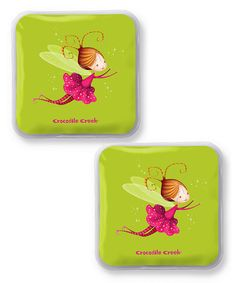 Loving this Fairy Ice Pack - Set of Two on #zulily! #zulilyfinds