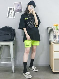 Here Are Some Great korean fashion outfits 6848 K Fashion, Ulzzang Fashion, Tomboy Fashion, Korea Fashion, Streetwear Fashion, Asian Fashion, Fashion Outfits, Boyish Outfits, Tomboy Outfits