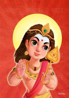 Little Muruga - Bala Vel Murugan - Buy this beautiful Little Muruga art print online from sporg stores. Available as canvas and art paper print. #littlemuruga #Balamurugan #velmurugan