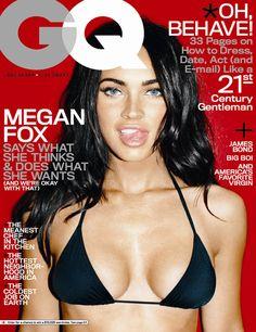 magazine covers | Megan Fox GQ Magazine Cover Picture