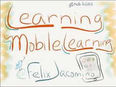 Learning Mobile Learning