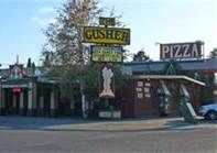 "It's been 44 years since Linda and I worked in Yellowstone Park. The Gusher was our favorite place to go and have pizza and beer. Wonder if it is still as good.we always ordered ""The Gusher"" with everything. Grand Teton National Park, Yellowstone National Park, National Parks, Pool Table Games, Free Poker Games, Pizza And Beer, West Yellowstone, Places To Eat"