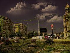 Post-apocalyptic city by SkiloBHC on deviantART