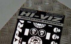 Respro® Hi-Viz Sticker Kit Reflective Kiss Cut Stickers US Design www.respro.com