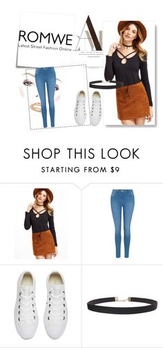 """Untitled #9"" by roberta-28 ❤ liked on Polyvore featuring George, Converse, Humble Chic and Post-It"