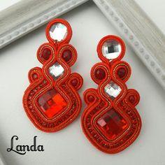 Beading, Jewelry, Stud Earrings, Necklaces, Hair Jewellery, Soutache Jewelry, Blue Prints, Beads, Jewlery