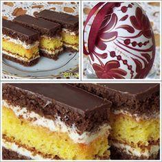 füveskönyv: Díjnyertes sütemény Hungarian Desserts, Hungarian Recipes, Sweet Cookies, Cake Cookies, Sweets Recipes, Cake Recipes, Povitica Recipe, Croation Recipes, Delicious Desserts