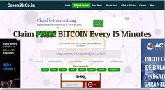 Биткоин кран GreenBitcoin  - до 200.000 satoshi за 15 минут!