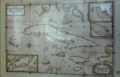 The leaked map for Assassins Creed IV: Black Flag