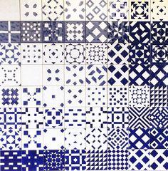 Tiles, Lisbon.