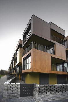 Tetris Apartments / OFIS arhitekti #arquitectura #diseño