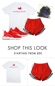 """""""Fitttt"""" by aerielle24 ❤ liked on Polyvore featuring NIKE"""