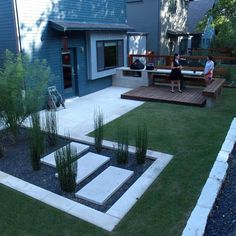 Back garden patio ideas small backyard patio ideas backyard design inspiration small backyard patio ideas small . back garden patio ideas Modern Backyard Design, Modern Landscape Design, Backyard Patio Designs, Small Backyard Landscaping, Modern Landscaping, Diy Patio, Landscaping Ideas, Backyard Ideas, Budget Patio
