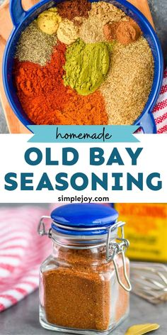 Homemade Old Bay Seasoning Recipe, Homemade Dry Mixes, Homemade Spices, Homemade Seasonings, Sauce Recipes, Fish Recipes, Great Recipes, Cooking Recipes, Keto Seasoning