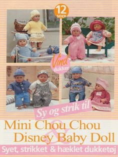 Sy og strik til Mini Chou Chou & Disney Baby Doll - https://get.google.com/albumarchive/103852630583460363974/album/AF1QipNjp59U2nfZ4aQcTnaXK8uwUWl3x-DhkTd4U7Pn